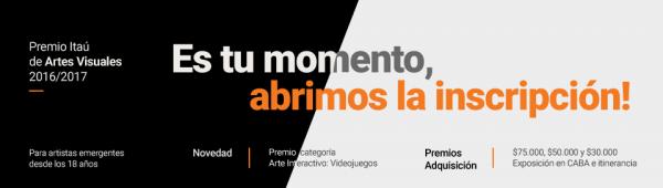Premio Itaú de Artes Visuales 2016-2017