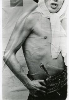 Facundo de Zuviría. Gaucho Pop, Montserrat, c. 1984. Gelatin Silver print; vintage copy. Courtesy of the artist