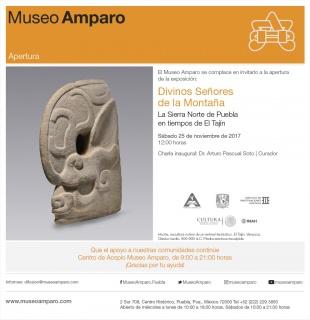 DIVINOS SEÑORES DE LA MONTAÑA. LA SIERRA NORTE DE PUEBLA EN TIEMPOS DE EL TAJÍN. Imagen cortesía Museo Amparo