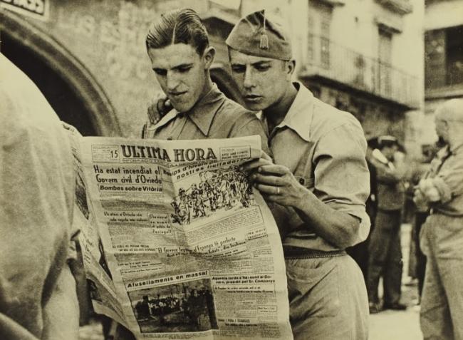 Agustí Centelles. Una crònica fotogràfica. Anys 30 — Cortesía de la Fundació Vila Casas