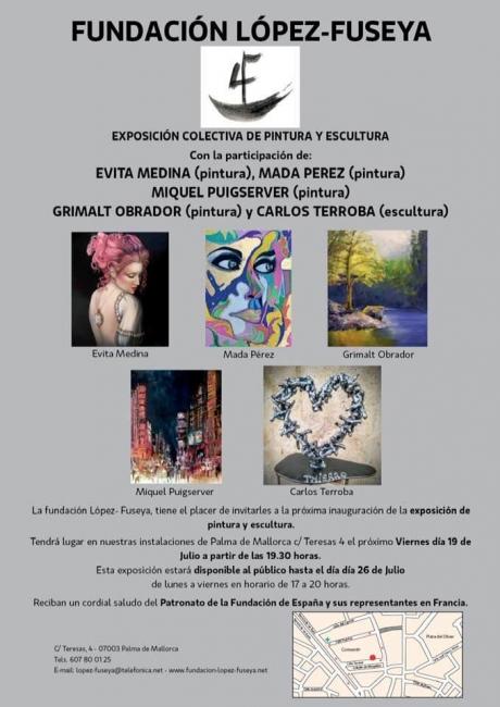 Colectiva de Pintura y Escultura