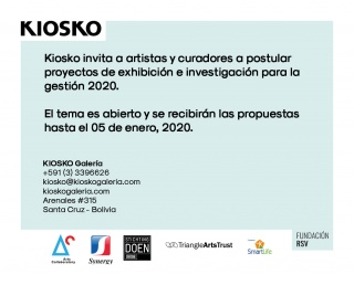 Convocatoria Exposiciones KIOSKO 2020