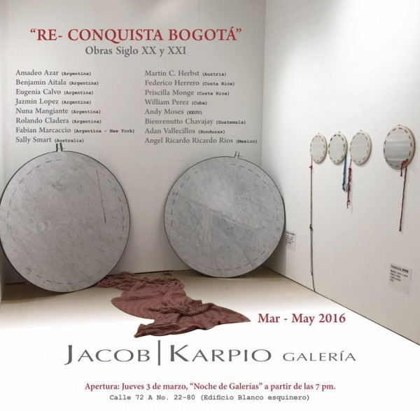 RE-CONQUISTA BOGOTA - Obras del siglo XX y XXI
