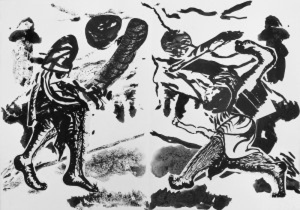 Steph Theobald, The Black Kight vs Galoshin, 300x210