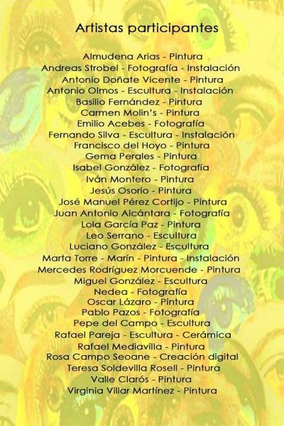 Artistas participantes