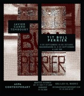 PIT BULL TERRIER - Javier Carro Temboury en Aspa Contemporary