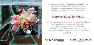Schommer. Al natural