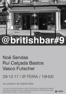 @BRITISH BAR #9. Imagen cortesía Galeria Miguel Nabinho