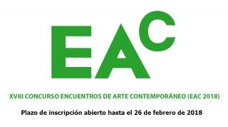 XVIII Concurso Encuentros de Arte Contemporáneo (EAC-2018)