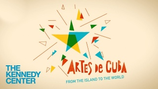 El logo para el festival, creado por Giselle Monzón Calero.  Cortesía de The Kennedy Center.