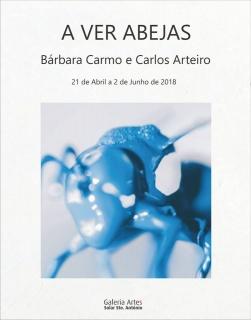 Bárbara Carmo e Carlos Arteiro. A ver abejas