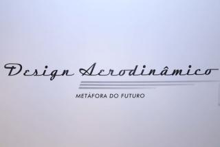 Design aerodinâmico – Metáfora do futuro. Fotografía: Vinícius Stasolla