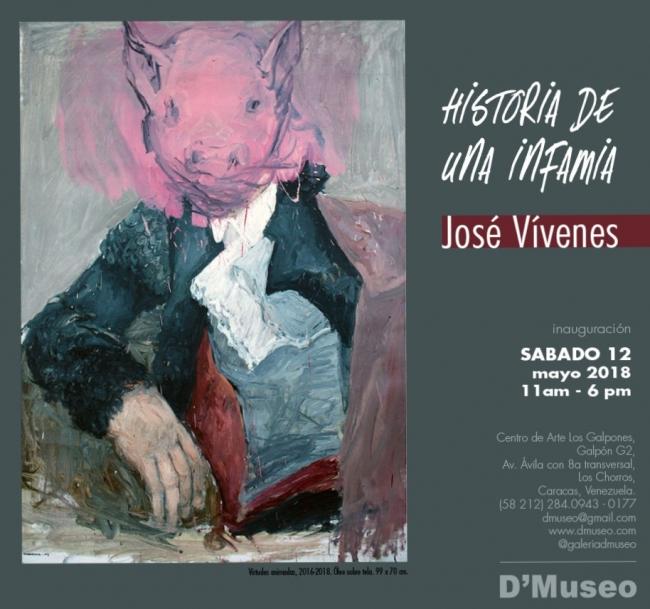 Historia de una infamia. José Vivenes