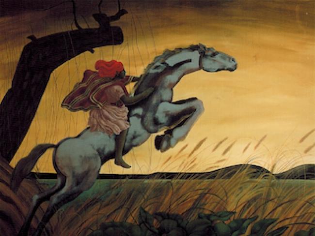 Detalle de obra J. Venturelli: Recuerdo de un recuerdo, 1983 Colección MNBA