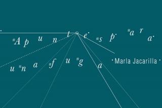 Marla Jacarilla. Apuntes para una fuga