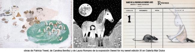 Sweet for my sweet IX.I magen cortesia  Galería Mar Dulce