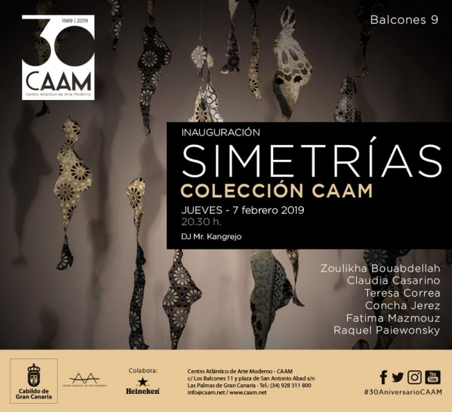 Simetrías. Colección CAAM