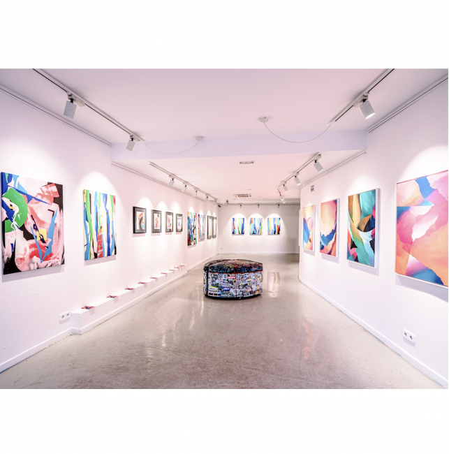 Tiempos Abstractos. ROSH · ARNAUD LIARD. Montana Gallery Barcelona