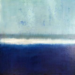Belén Conthe, Entre la niebla 3 60 x 60 cm.