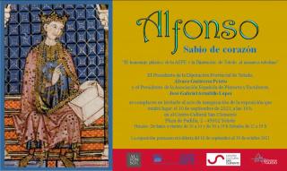 Cartel de Alfonso, sabio de corazón