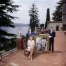 ©Chema Conesa. Los Thyssen en Villa Favorita. Lugano, 1989