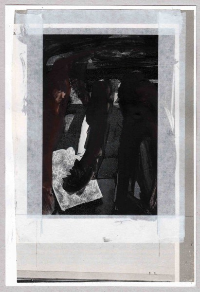Pedro Sousa Vieira, Koeksisters, 2013, técnica mista sobre papel, 20.5 x 14 cm.