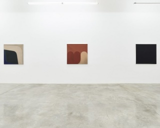Installation view of Tomie Ohtake at Tina Kim Gallery, 2016