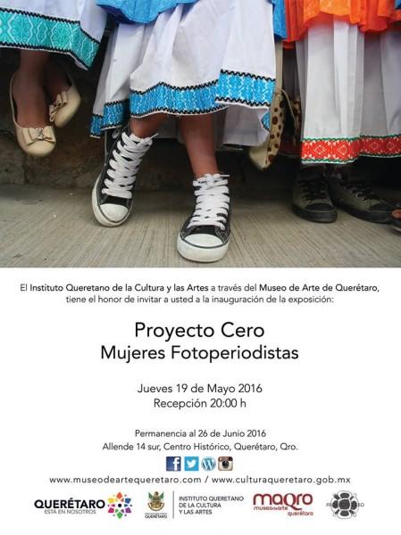 Proyecto Cero - Mujeres Fotoperiodistas