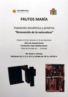 """Nueva exposición \""""Renovación de la naturaleza\"""" en Orihuela"""