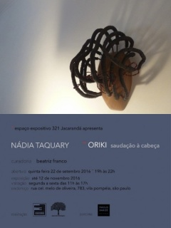 Nádia Taquary - Oriki, saudação à cabeça