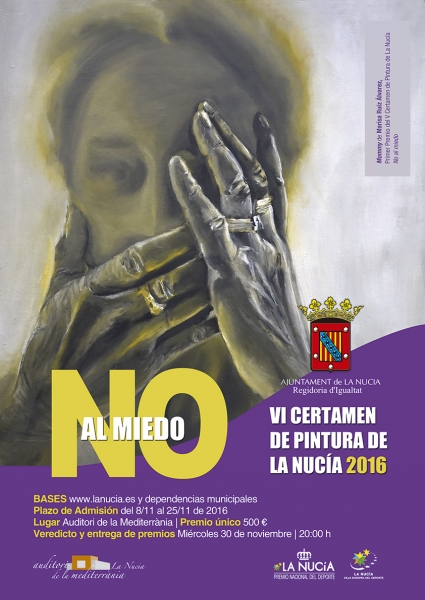 VI Certamen de Pintura No al Miedo 2016