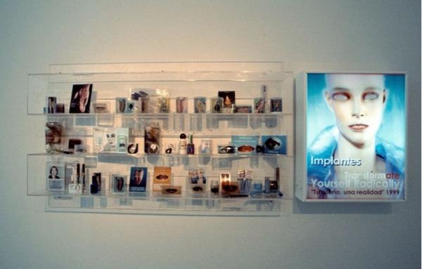 """Paloma Navares, Serie \""""Implantes. Seducción y belleza\"""". 1993 – 1999"""