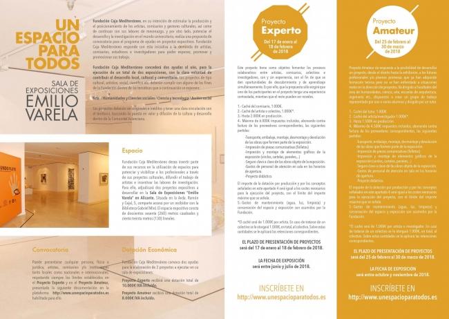 Un proyecto para todos. Sala de exposiciones Emilio Varela