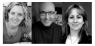Jurado (De Izqda. a Dcha.): Paola Ibarra, Tom Healy y Adriana Herrera. Cortesía de YES Contemporary Art El Salvador