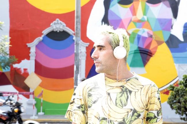 Okuda San Miguel en el CCE Lima