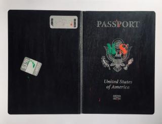 Marina Sagona. Passport. E Pluribus Unum. Cover — Cortesía de Chiquita Room