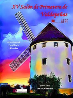 Cartel del XV Salón de Primavera de Valdepeñas