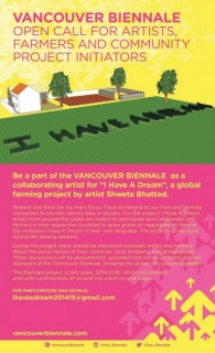 Ihaveadreamproject for vancouver Biennale 2015