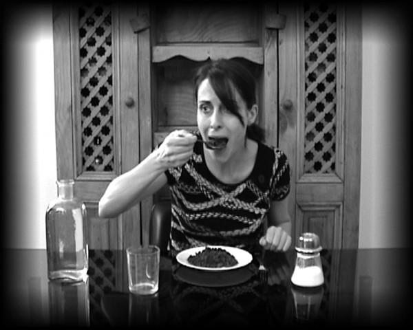 Diana Larrea, Geofagia o la dieta del artista, 2008