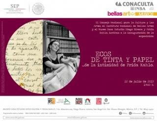 Ecos de tinta y papel ...de la intimidad de Frida Kahlo
