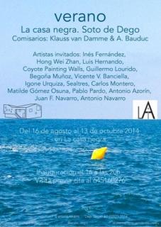 Cartel de la Exposición VERANO