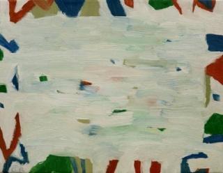 Niebla. 2015. Óleo sobre lienzo. 27 x 35 cm.
