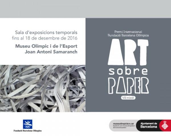 VII Premi Internacional FBO: Art sobre paper