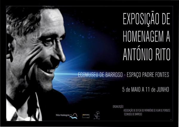 Exposição de homenagem a António Rito
