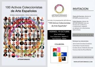 Invitación al coloquio ¿Cómo ser coleccionista de arte hoy?