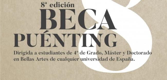 8ª Beca Puénting de Profesionalización Artística