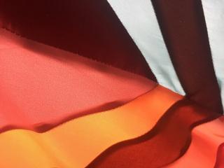 Sofía Táboas, detalle de lastre volcánico con ventana naranja, 2019 | cortesía de la artista