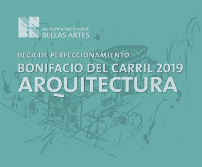 Beca Bonifacio del Carril de perfeccionamiento artístico 2019