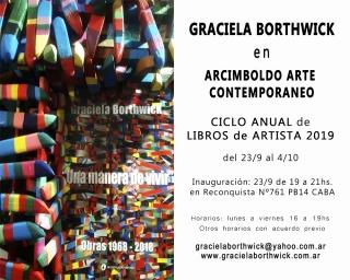 Graciela Borthwick en Arcimboldo Arte Contemporáneo