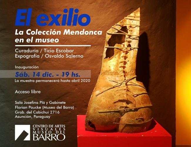 El Exilio. La Colección Mendonca en el Museo
